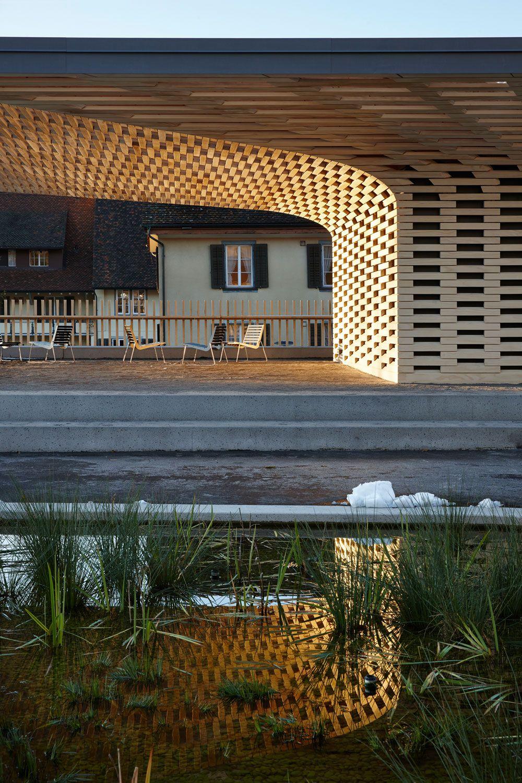 veredeln statt verstecken: pavillon im stadtgarten zug | zug, Gartengerate ideen