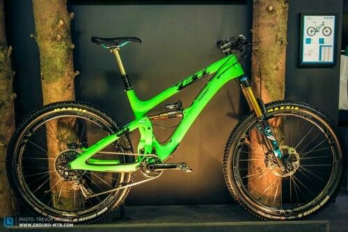 Exclusive First Look At The New Yeti Sb6c Velo Vert Enduro