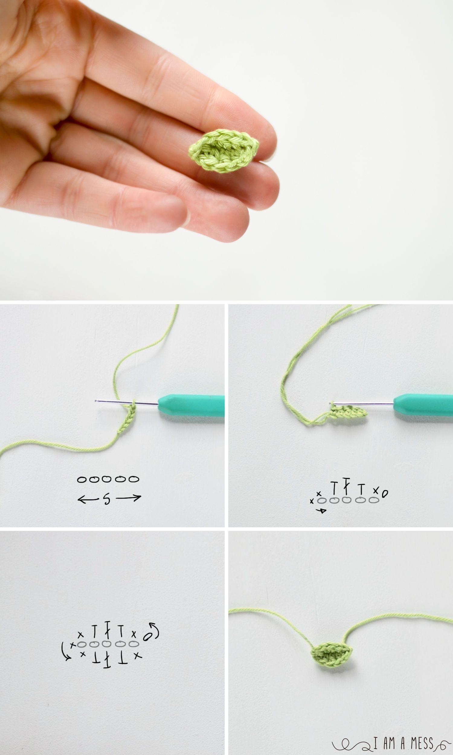 Patrón de tres fores de ganchillo muy fáciles de hacer | Pinterest ...