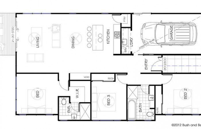 Diamantina Bush and Beach House & Home Designs - Bush and Beach ...