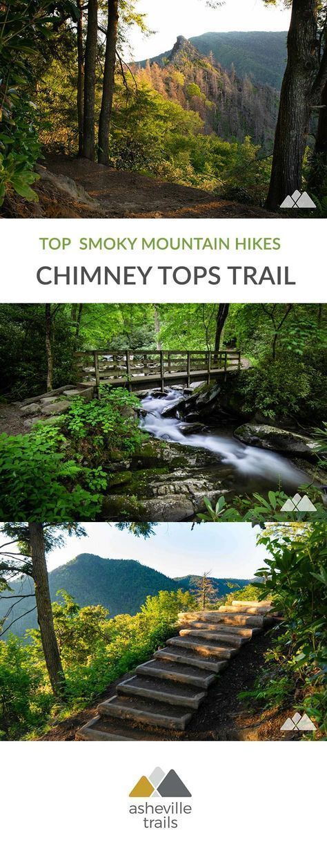 Chimney Tops Trail in the Smoky Mountains – Asheville Trails