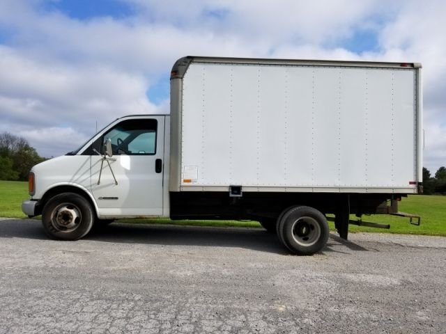 2001 Chevy 3500 Hi Cube Van Trucks For Sale Trucks Chevy