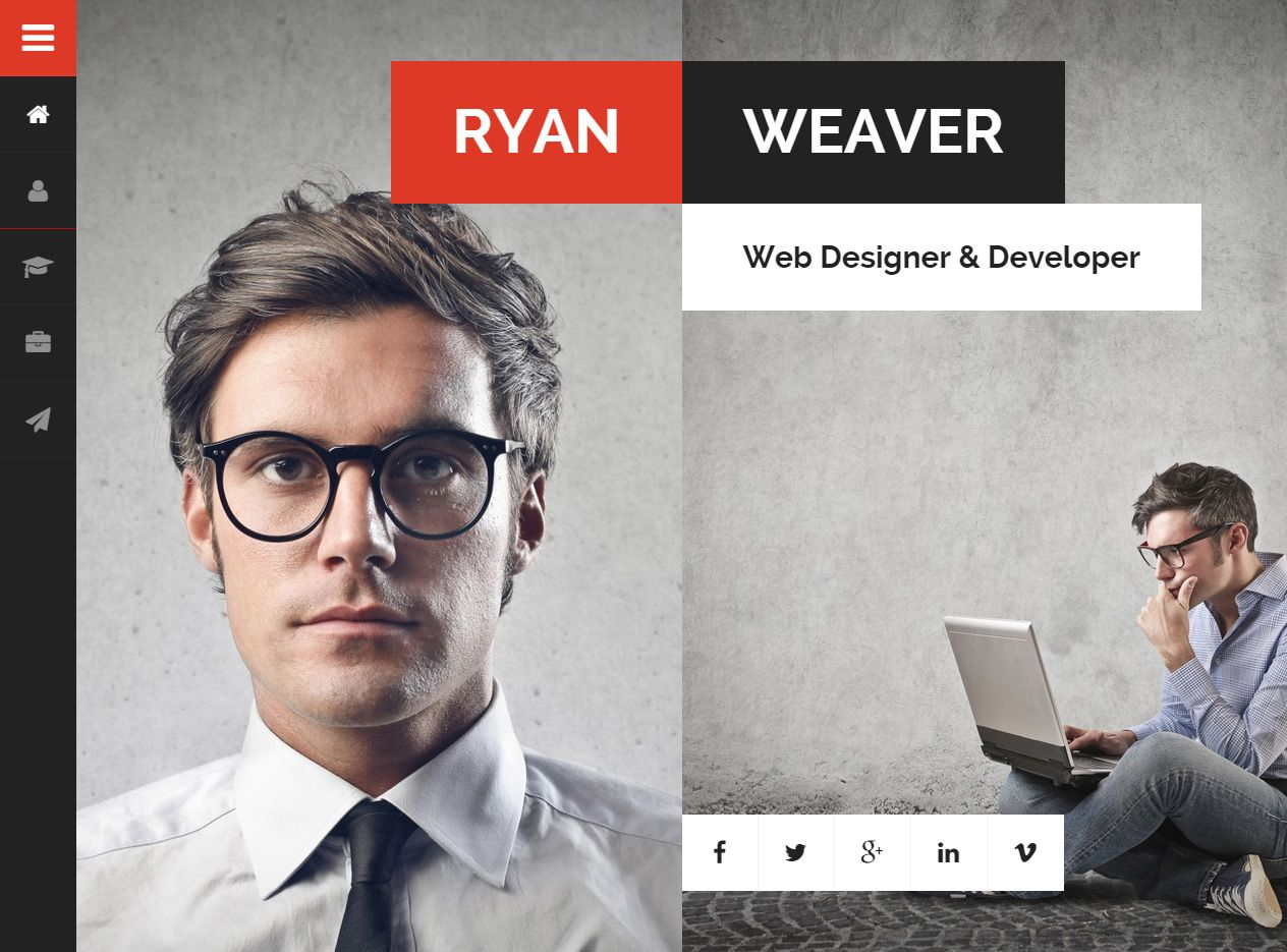 Divergent is Premium full Responsive Retina #Resume #HTML5 template ...