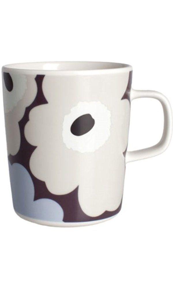 Marimekko Unikko Plum mug 250ml Best Price
