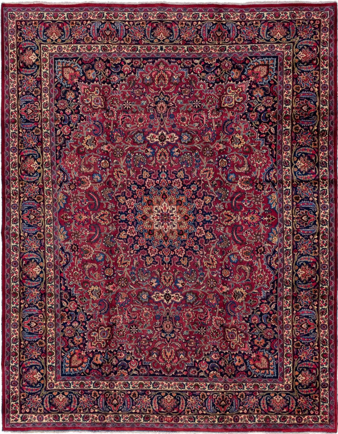 Mashad Magenta Antique 10x13 Large Area Rug In 2020 Rugs Large Area Rugs Persian Rug