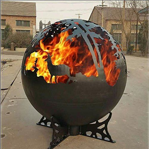 Image result for enchanted wood globe fire pit #ConcreteFirePitTutorials - Image Result For Enchanted Wood Globe Fire Pit