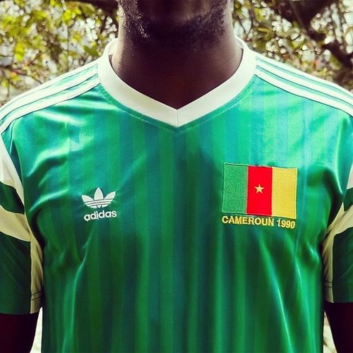 The Fantastic Retro Adidas Originals 1990 Cameroon Dancing