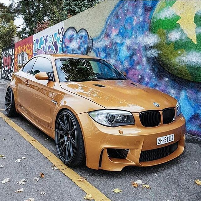 Sunburst Gold E82 1m Coupe Use My Tag Bmwm Fam In Your Photos