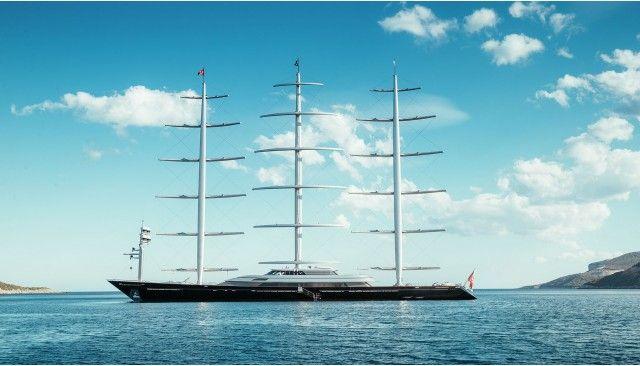 MALTESE FALCON Superyacht Luxury Sail Yacht for Charter