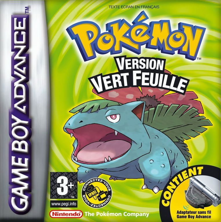 Pokemon Version Vert Feuille Juegos De Pokemon Pokemon Pokemon Leaf