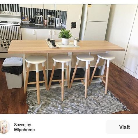 mylittleplaceofhome hacks a kitchen island from the KALLAX | Astuces ...