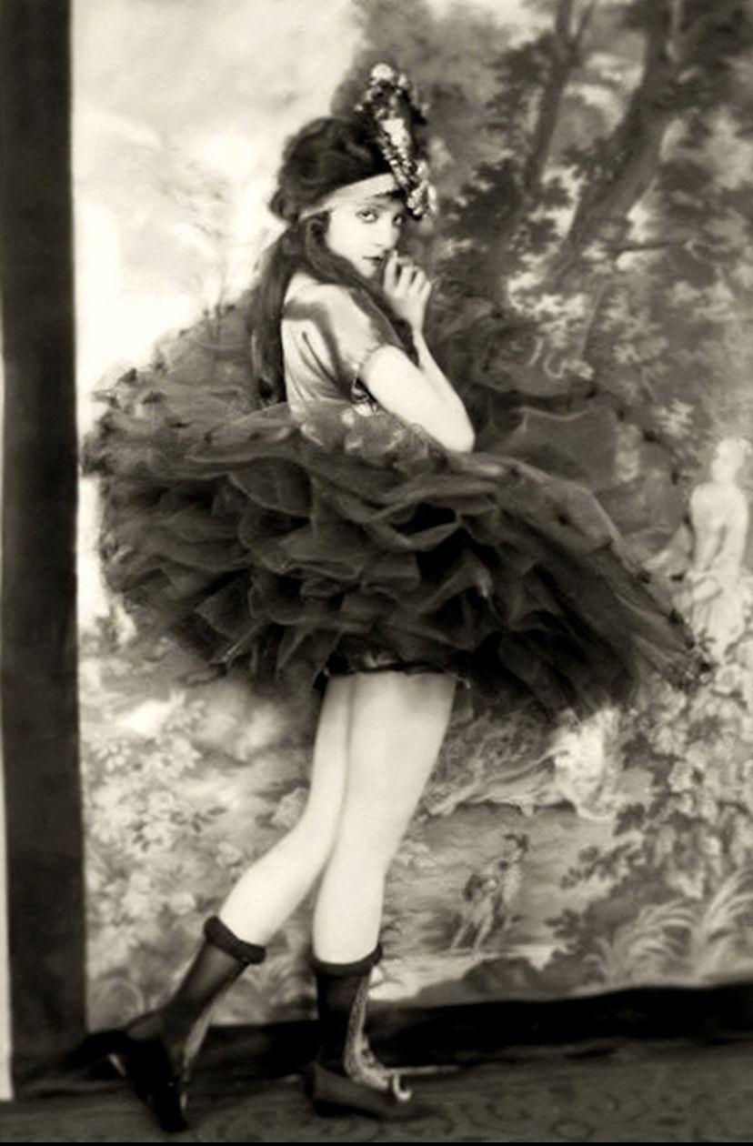 DOLORES COSTELLO Ziegfeld Girl 1923 ARTS POSTER Alfred Johnston 24X36 RARE
