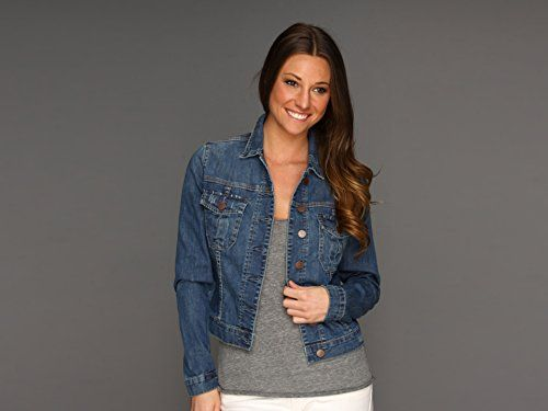 Kut From The Kloth Womens Denim Jacket Serpa Small *** Learn more by visiting the image link.