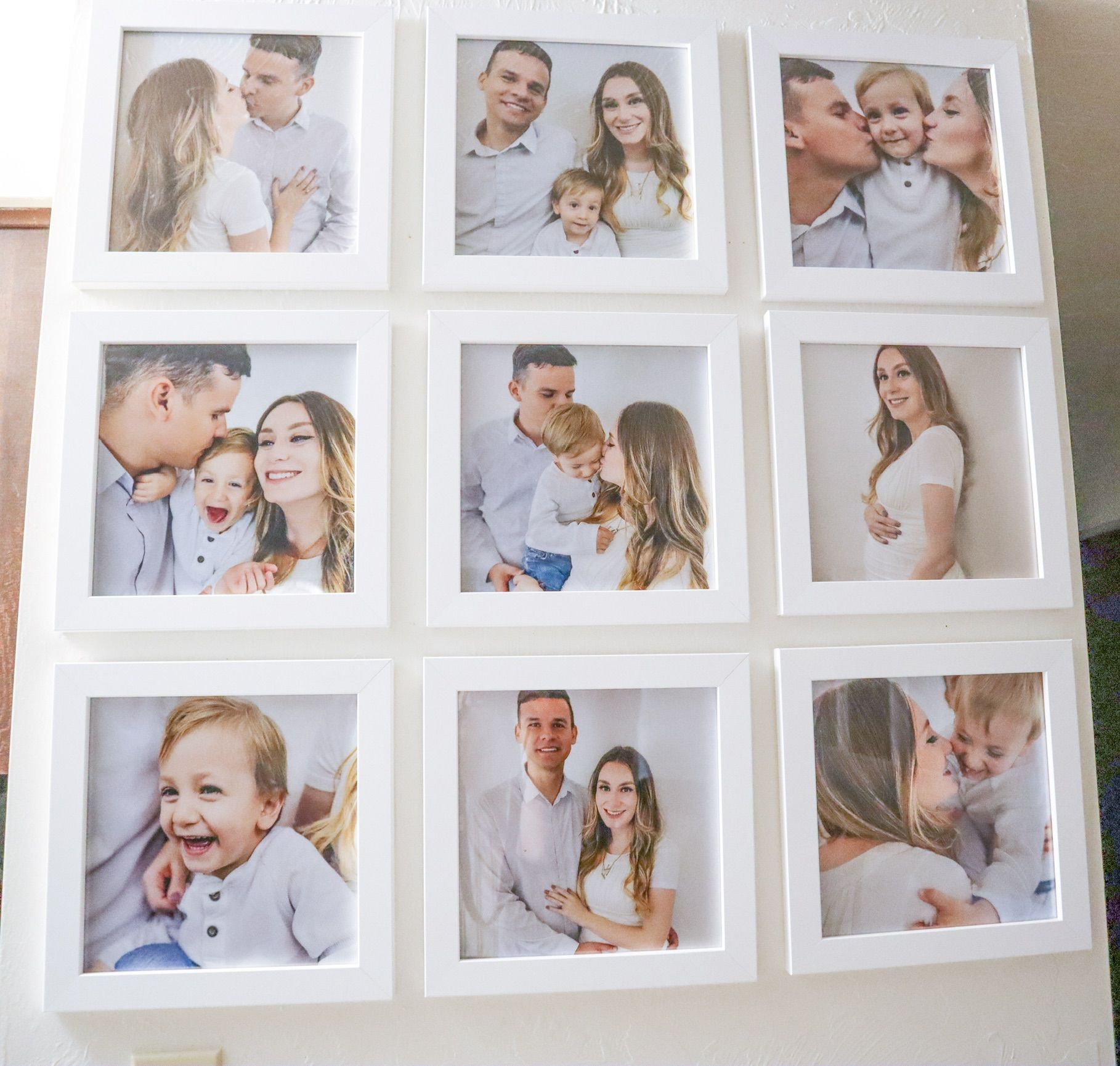 8x10 Satin White Frame Picture Frame In 2020 White Picture Frames Frame Gallery Wall