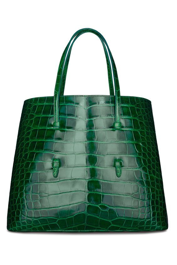 Amazing Azzedine Alaïa. Crocodile Tote Bag Clothing, Shoes ...
