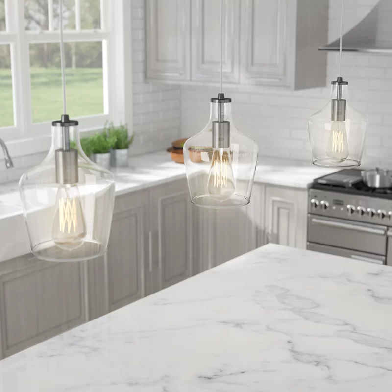 6 Tips For A Kitchen You Can Love For A Lifetime: Du Bois 1 - Light Single Bell Pendant