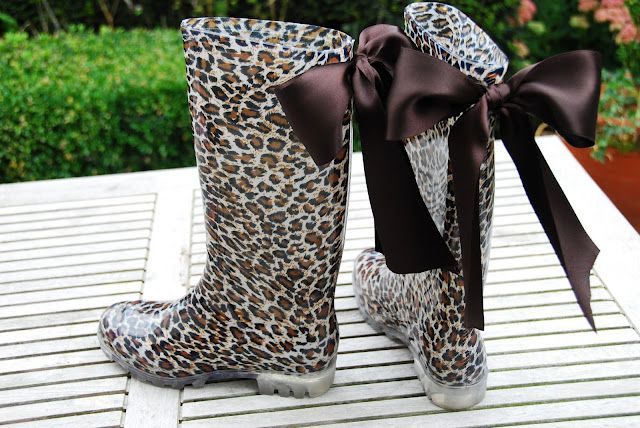 Cutest rain boots ever! |Pinned from PinTo for iPad|