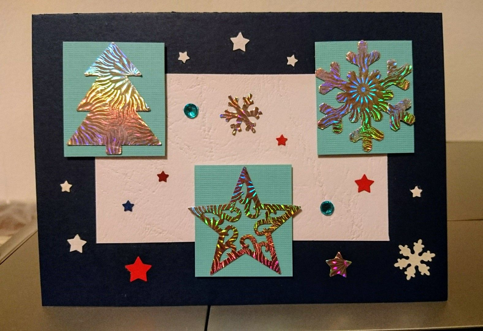 very simple christmas card | My Christmas Cards | Pinterest | Simple ...