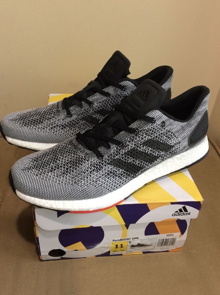 Adidas Pureboost DPR OREO, Men's Fashion, Footwear, Sneakers