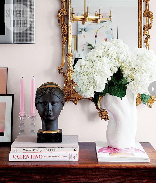 Un appartement glamour chic et ultra f minin ensemble - Appartement decoration design glamour vuong ...