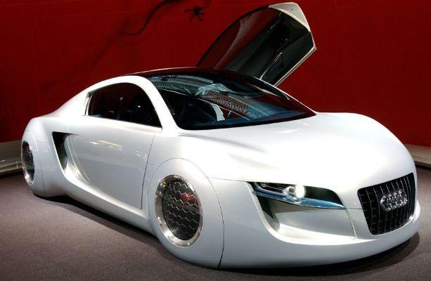 Prototype Car Audi 2030 Technology