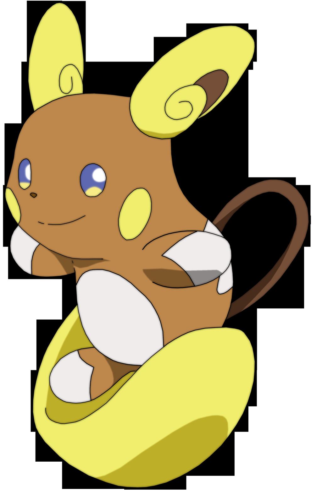 Raichu Alola By Uraharataichou On Deviantart Raichu Pokemon Alola Pokemon Pokedex