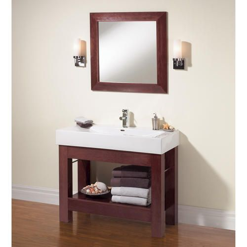 Vanity No Drawers Hmmmm Might Work Open Bathroom Vanity Single Bathroom Vanity Bathroom Vanity