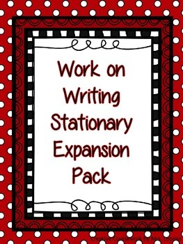 This is a great addition to any writing center.  It has 14 different stationary styles.  All of the styles are general and could work with almost any writing topic.  This is a great addition to any 2-8th grade classroom.  Your students will love personalizing their writing with different types of stationary.