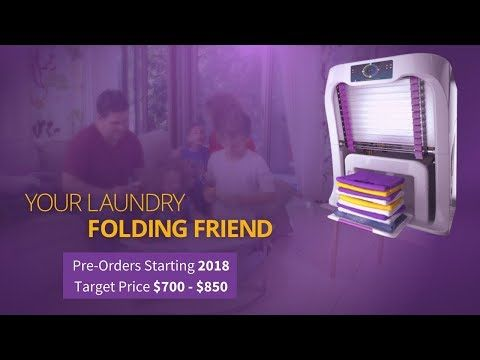 See How This Machine Will Fold Your Laundry So You Don T Have To Contemporist Folding Laundry Folding Machine Folding Clothes
