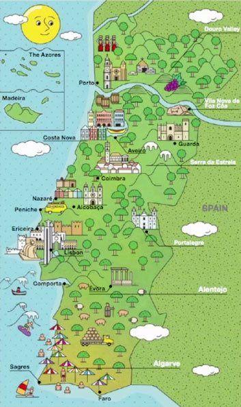 mapa portugal cidades turisticas Resultado de imagen para mapa de portugal cidades turisticas  mapa portugal cidades turisticas