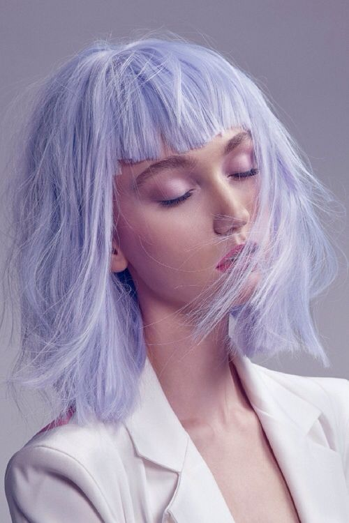 lilac hair couleur de cheveux lila | Hair color pastel ...