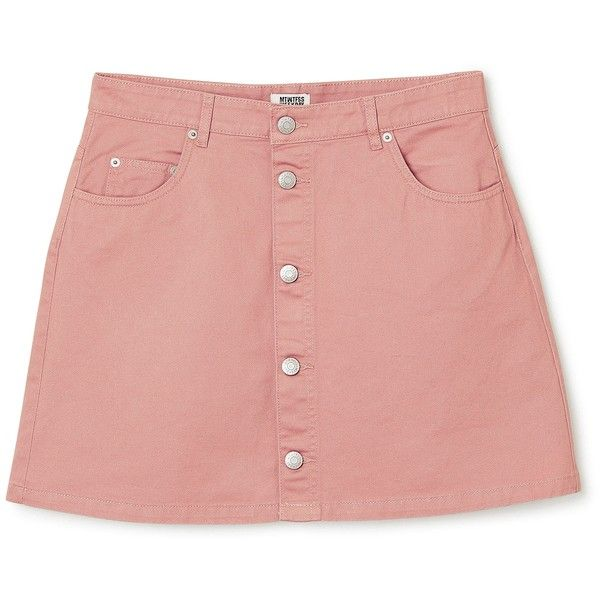 Denver Mini Skirt ❤ liked on Polyvore featuring skirts, mini skirts, pink, short miniskirt, short red skirt, red mini skirt, mini skirt and short skirts