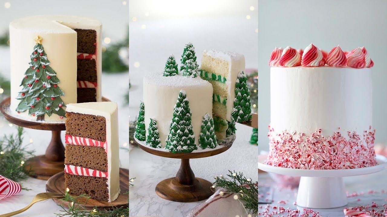 Amazing Christmas Cake Decorating Compilation Youtube Christmas Cake Decorations Christmas Cake Cake Decorating