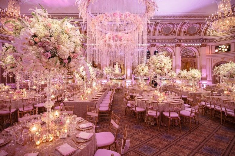 Inspiration Blush Florals And Venetian Grandeur David Tutera