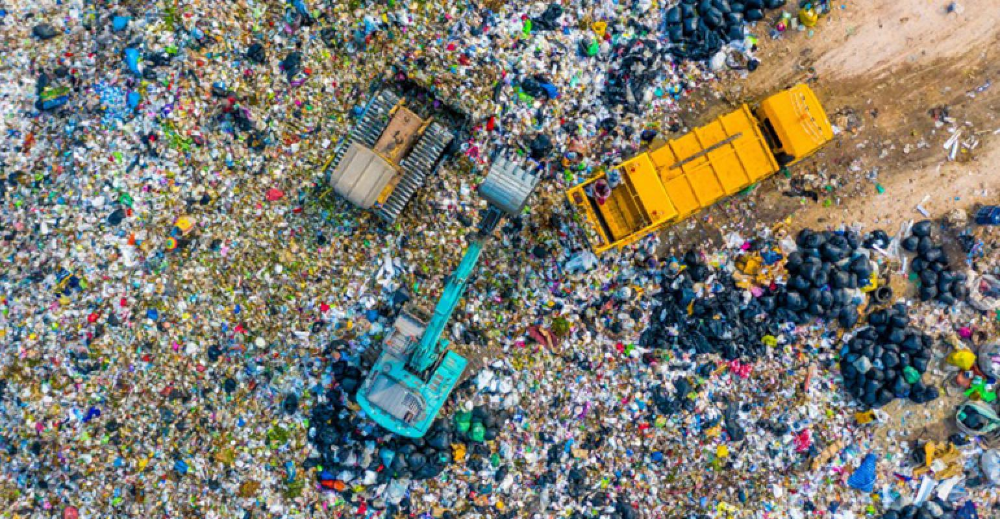 Landfill Mining And Its Tremendous Potential Trash Dump Landfill Garbage