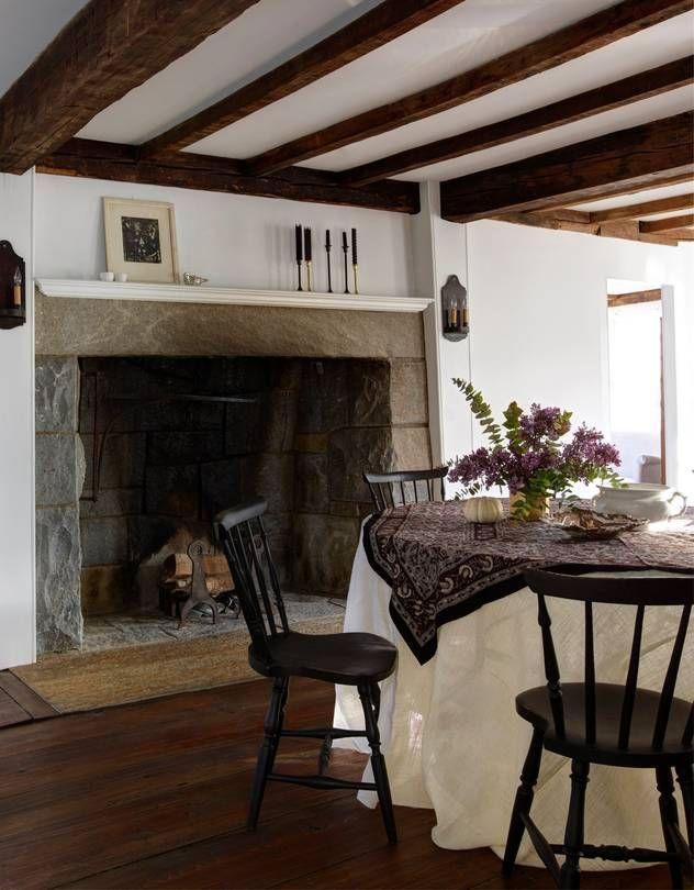 A farmhouse reborn with anti quaint décor