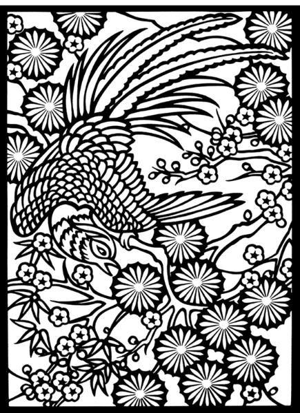 Malvorlage Feuervogel   Coloring and Malvorlagan