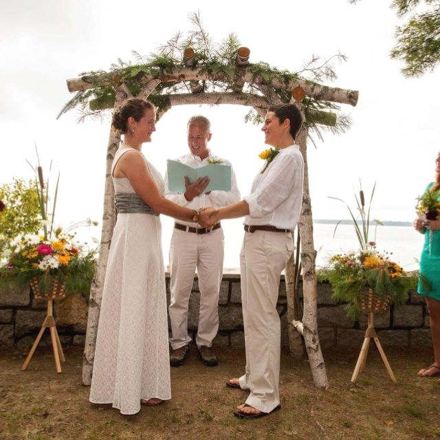 Birch Arbor, Great Addition To A Rustic Wedding!