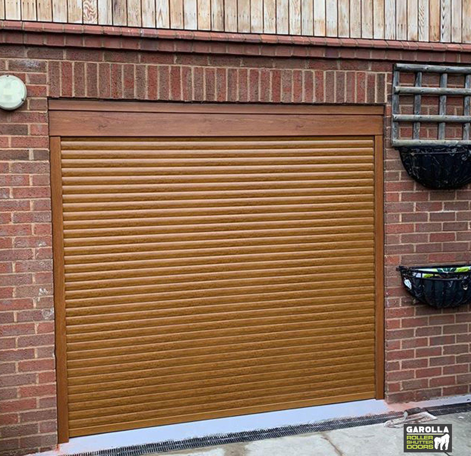 Oak Roller Garage Door In 2020 Garage Doors For Sale Oak Garage Doors Garage Door Design