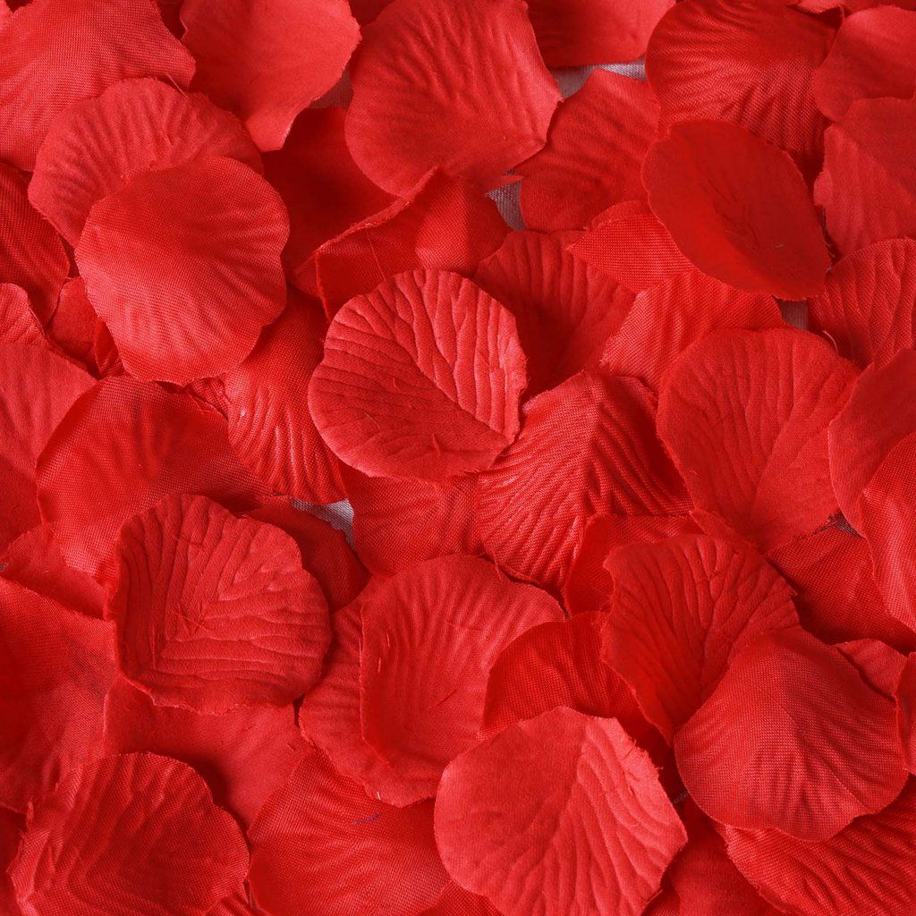1000PCS Flowers Silk Rose Petals Wedding Party Table Decoration Confetti 500