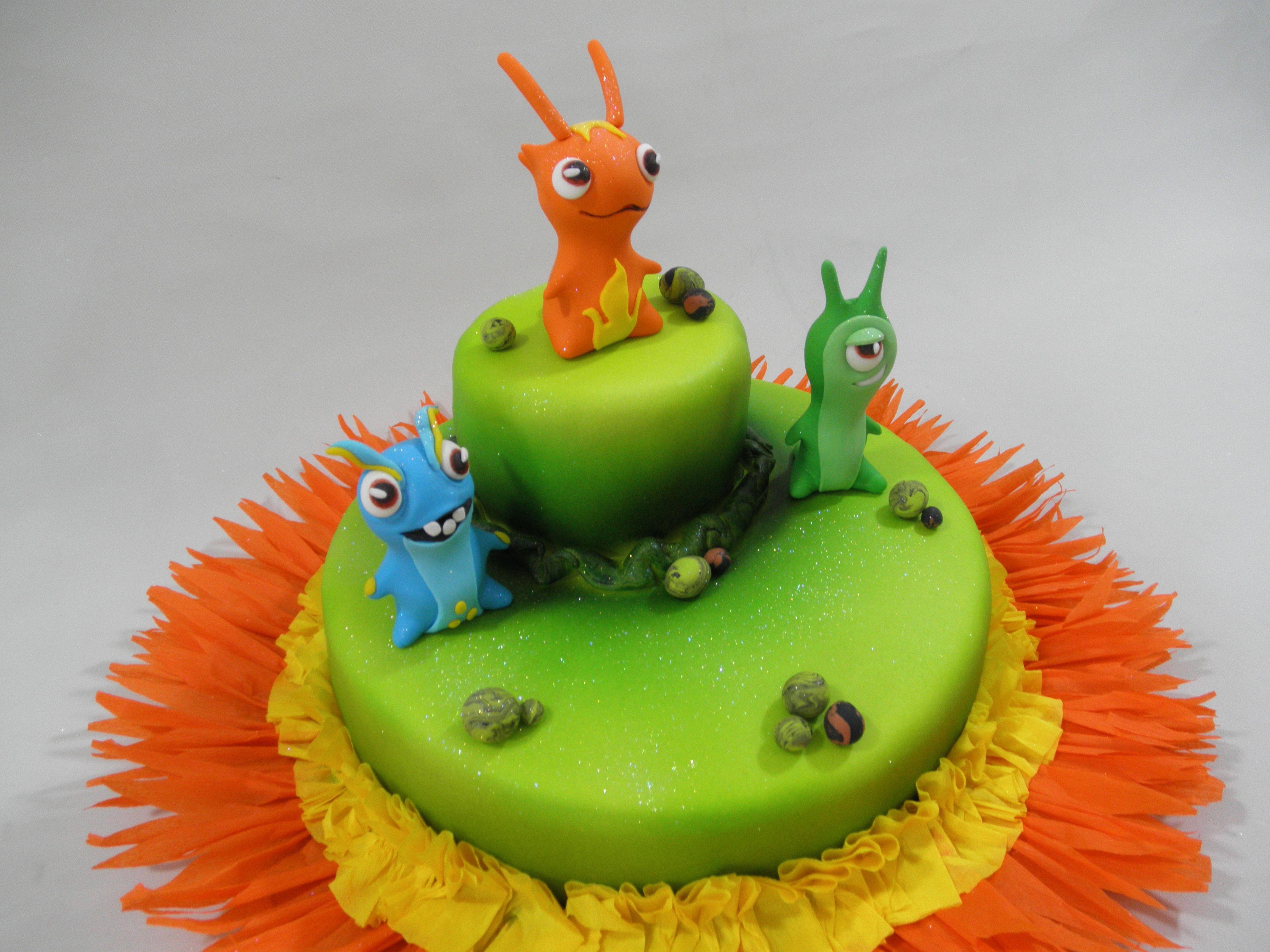 Pics for slugterra bolo for Decoracion de tortas infantiles