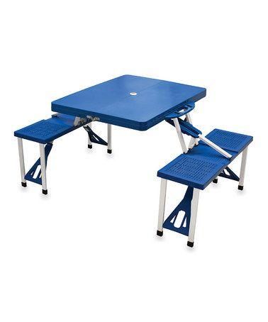 Foldable Picnic Table Awesome Royal Blue Picnic Table