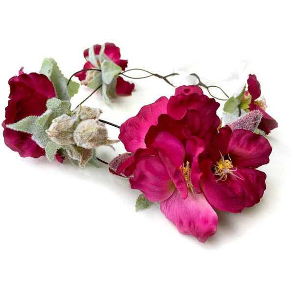 Orchid Flower Crown, Woodland Flower Crown, Orchid Headpiece, Wedding... (111.445 COP) ❤ liked on Polyvore featuring accessories, hair accessories, floral garland, crown tiara, boho headbands, floral crown and tiara crown