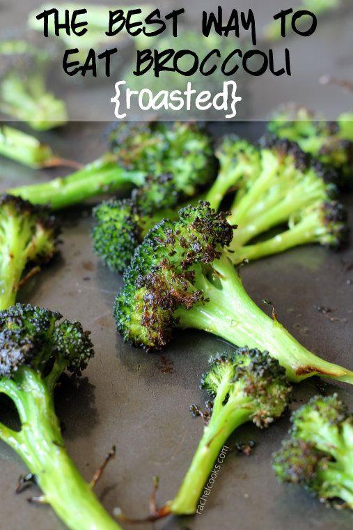 How to Roast Broccoli {best broccoli ever} #healthy