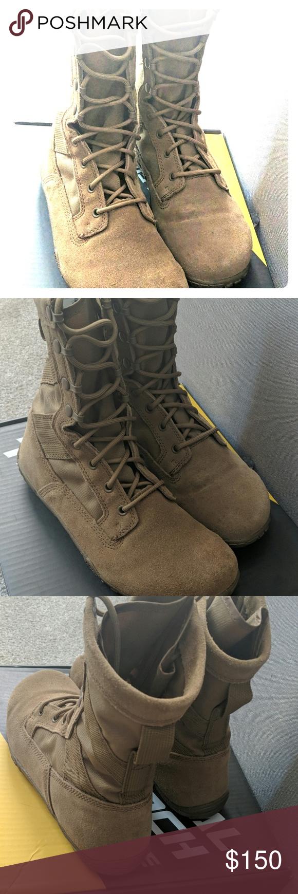 Belleville Tr105 Tactical Research Coyote Boots Shoe Boots Belleville