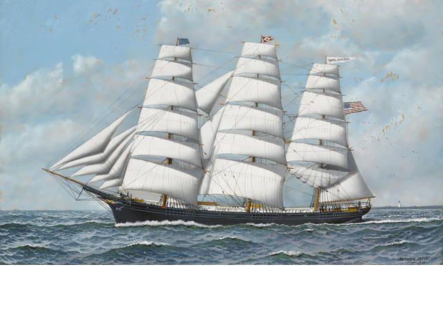 "Antonio Jacobsen, ""The Clipper Ship Young America"""