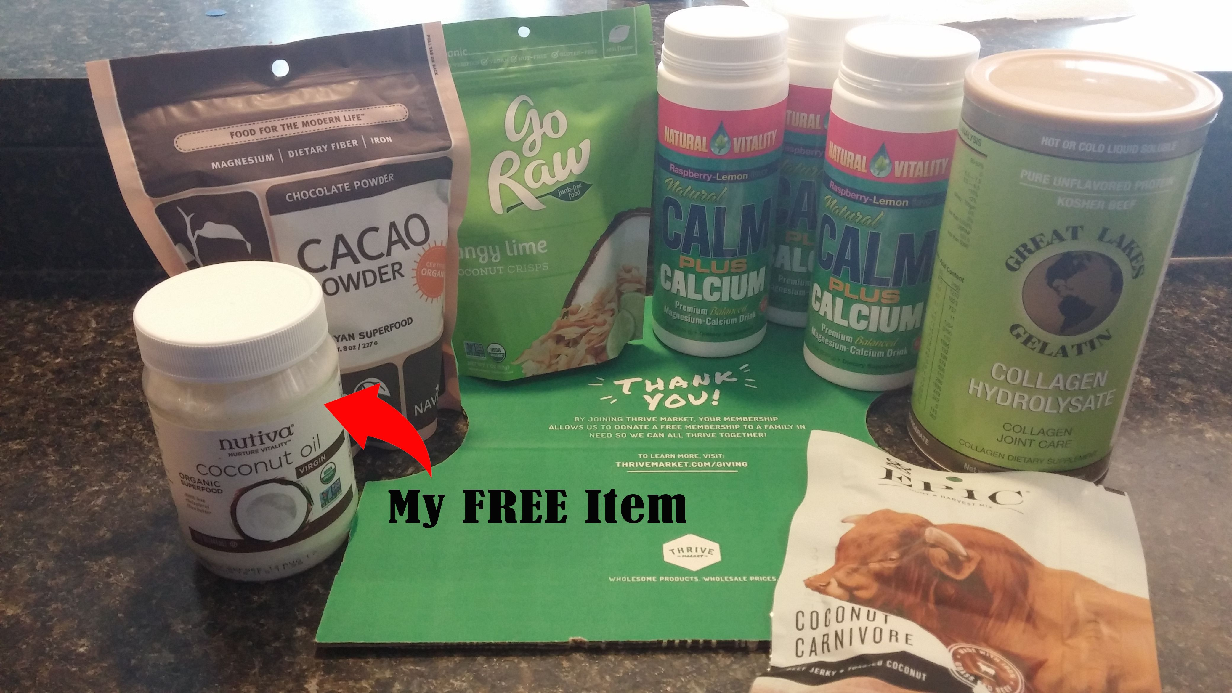 """If you have ever wondered """"What is Thrive Market"""" and hoped to find a Thrive products review then look no further because I'm going to cover this for you."""