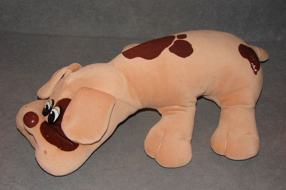 "Pound Puppies 19"" Stuffed Animal Plush Tonka 1985 Toy"