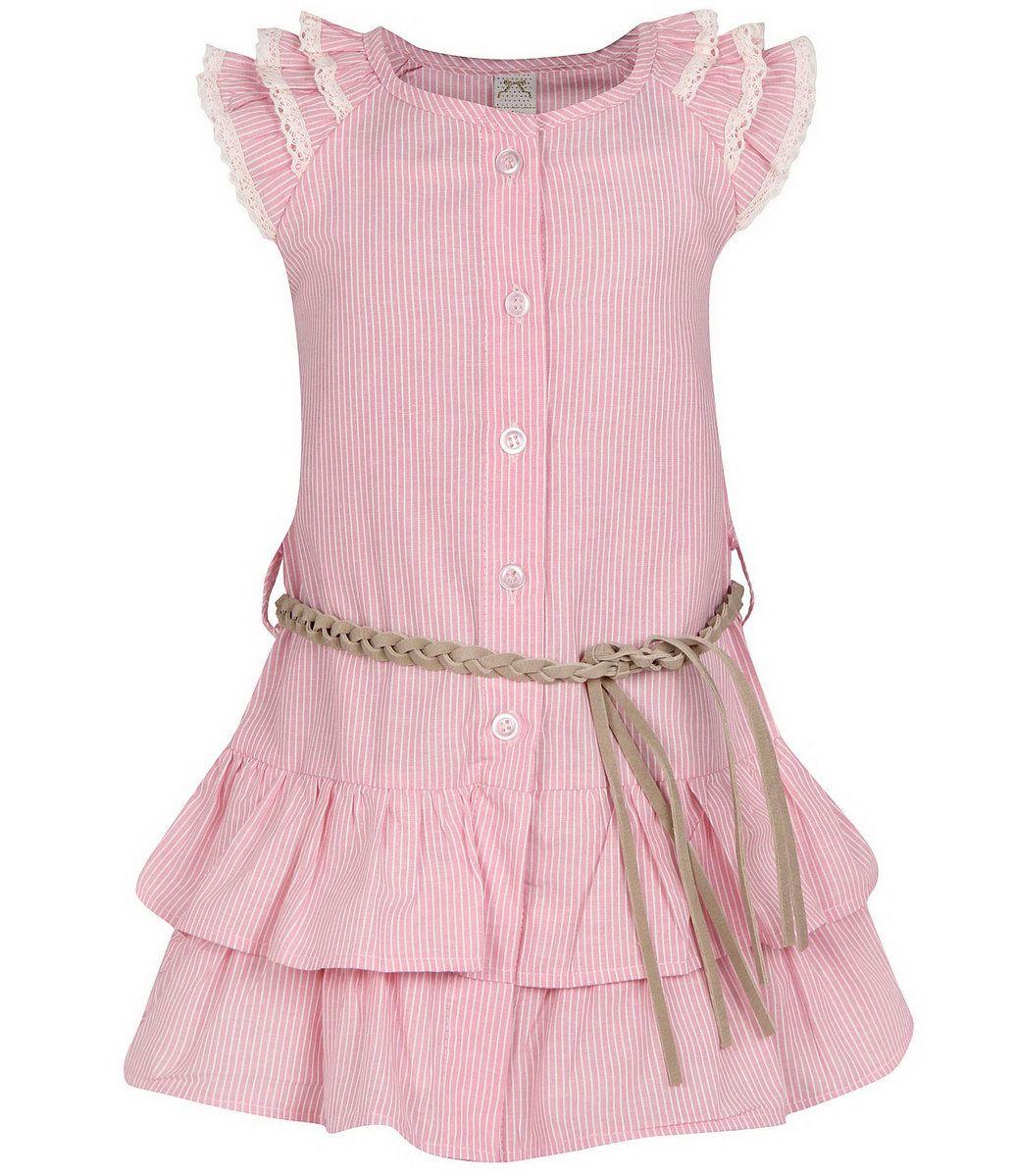 85064f4833 Vestido infantil em tricoline