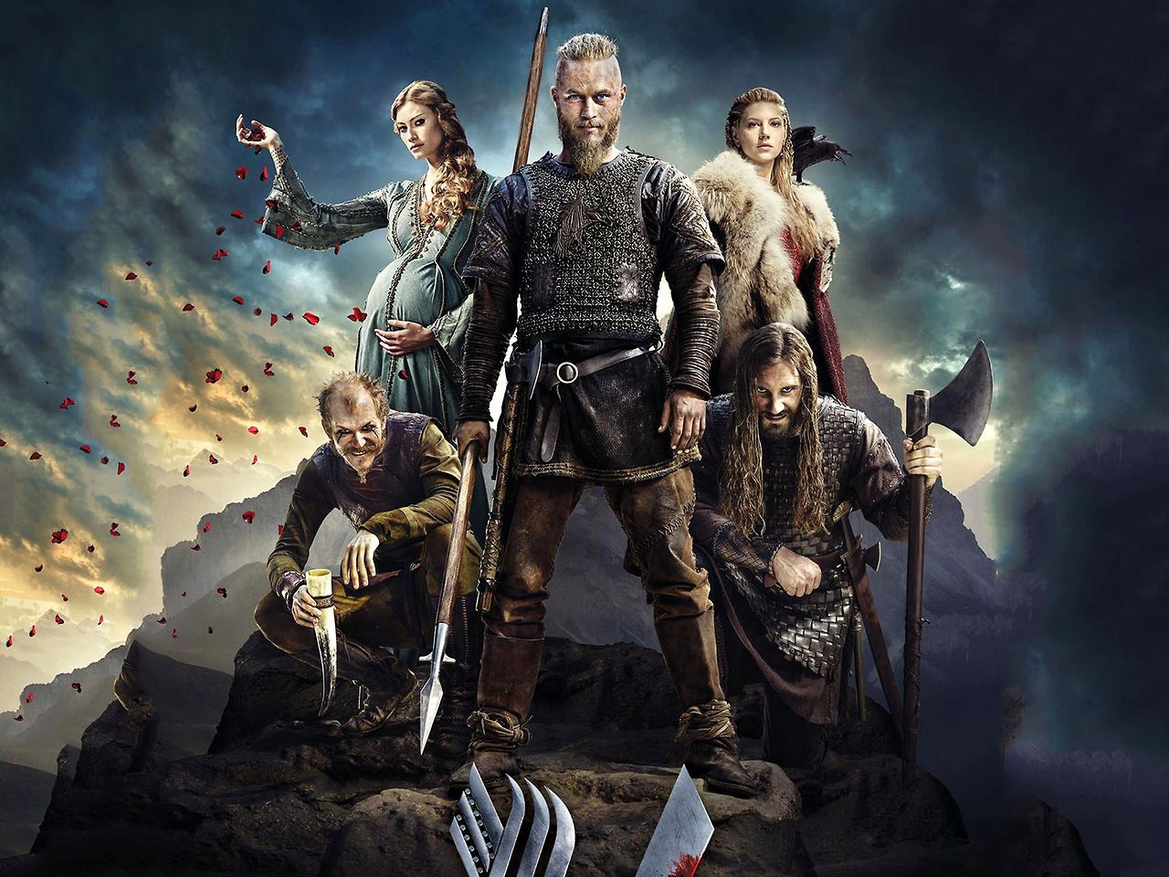 Vikings iphone wallpaper tumblr - Hd Wallpaper And Background Photos Of Season 2 Wallpaper For Fans Of Vikings Tv Series Images